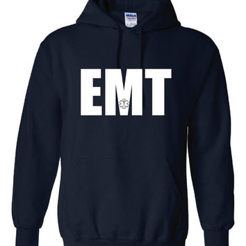 EMT Hoodie great gift for emt in your life buy for yourself emt early responders unisex hoodie
