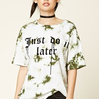 Oversized Tie-Dye Graphic Tee