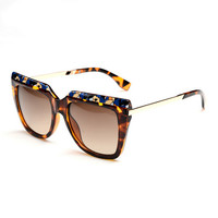 Fashion printed outdoor tourism Sunglasses