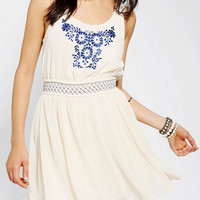Urban Outfitters - Ecote Embroidered Heidi Dress