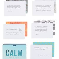 The School of Life Calm Prompt Cards | Nordstrom