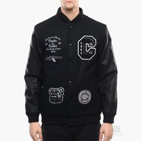 Crooks & Castles Pastime Stadium Jacket | Caliroots - The Californian Twist of Lifestyle and Culture