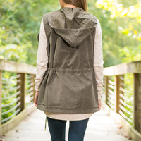 The Morgan Vest, Olive