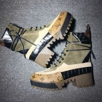 Louis Vuitton Lv Women Laureate Platform Desert Boot Reference #9