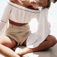 Lilo Cropped Top - Tops by Sabo Skirt