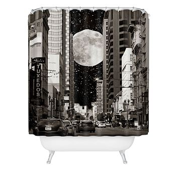 Shannon Clark Night On The Town Shower Curtain