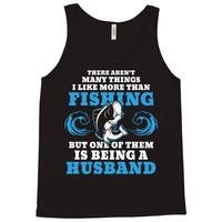 Fishing Husband Tank Top