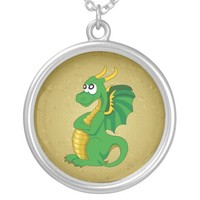 Dragon cartoon necklace