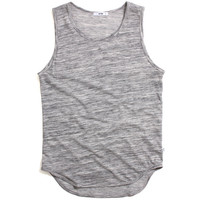 French Terry Original Long Tank Top Marble