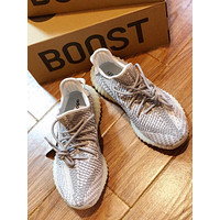 Adidas Yeezy 350 V2 Boots Static 3m Reflective Sneaker #156