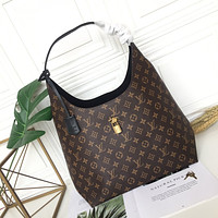 LV Louis Vuitton MONOGRAM CANVAS HANDBAG SHOULDER BAG HOBO BAG