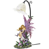 Fairy and Orchid Lamp