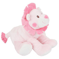 Toys R Us Plush 9 inch Jungle Baby Lion - Pink