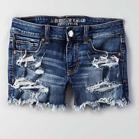 AEO Denim X Midi Short, Bold and Brave