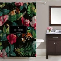 """Best Seller Tropical Kate Spade Limited Edition Custom Shower Curtain 60""""x72"""""""