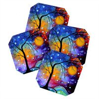 Madart Inc. Winter Sparkle Coaster Set