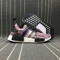 hcxx Adidas Boost Nmd R1 Pk Women Men Fashion Trending Running Sports Shoes