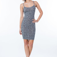 Ribbed It Apart Strappy Knit Dress