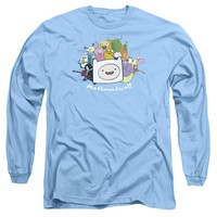 Adventure Time - Mathematical Long Sleeve Adult 18/1 Officially Licensed Shirt