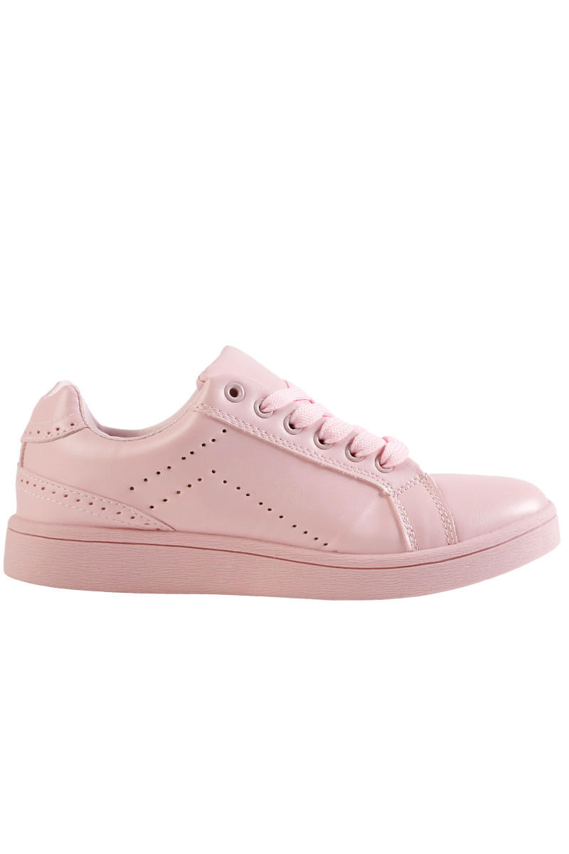 Image of All Color Flat Sneaker - BB Pink