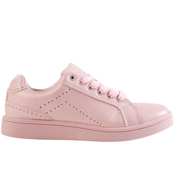 All Color Flat Sneaker - BB Pink