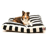 Majestic Pet Products Vertical Strip Rectangle Dog Pillow