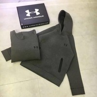 DCCKI2G Under Armour Woman Men Fashion Hoodie Top Sweater Pullover