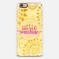 Hello Sunshine iPhone 6 case by Noonday Design | Casetify