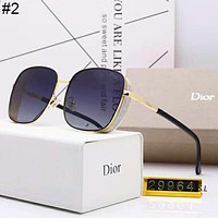 DIOR 2019 new men and women driving retro polarized sunglasses #2