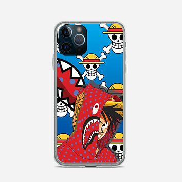 Luffy Bape iPhone 12 Pro Case