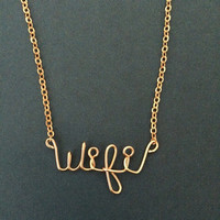 Wifi Necklace