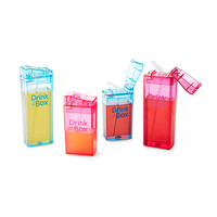 Sustainable Drink Boxes | reusable juice box, kids lunch box