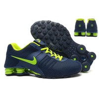 Nike Shox Current Woman Men Fashion Breathable Sneakers Sport Shoes-6