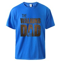 Man T shirt Summer  Print Male Short Sleeve Tops Casual Workout Top Hot Sell Father Day Gift Tee