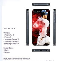 Dustin Pedroia boston Case For iPhone 4/4S iPhone 5 Galaxy S2/S3/S4
