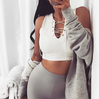 Comfortable Beach Sexy Hot Bralette Stylish Women's Fashion Summer Sleeveless Crop Top Tops Vest [11310344527]