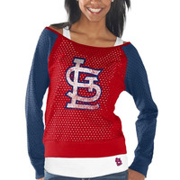 St. Louis Cardinals Womens Holy Long Sleeve T-Shirt and Tank Top - Red