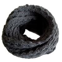 Frost Hats Winter Infinity Scarf for Women IS-1 CHARCOAL Knitted Loop Scarf Frost Hats:Amazon:Clothing