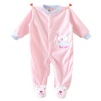 Cartoon Baby Rompers Costumes Fleece Newborn Baby Girl Boy Clothes Winter Overalls Roupa Bebes Animal Next Clothing Warm Clothes
