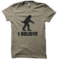 Bigfoot I Believe T-Shirt from These Shirts