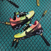 Nike Upcoming React Element 87 Pairs Volt And Racer Pink Sport Running Shoes