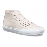 VANS Court Mid DX (Leather) Delicacy Pink Skate Shoes UltraCush WOMEN'S 9