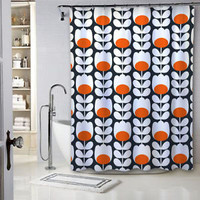 "New Orla Kiely Floral Pattern Custom Shower Curtain 60"" x 72"""