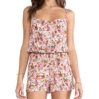 Eight Sixty Victoria Romper in Pink