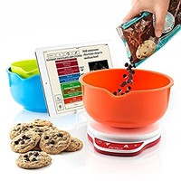 Perfect Bake 2.0 Smart Scale and Recipe App Kitchen Tool, Wireless (Bluetooth 4.0) by Perfect Company