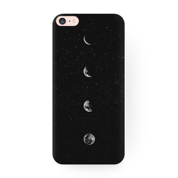 Creative Moon Hard Case Cover for iPhone 6 7 7 Plus