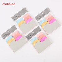 1PC 6 Color Index Note Paper Card Sticker Cute Sticky Note Post It Memo Pad for School Office Supplies Stationery Bookmark