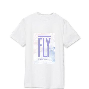 Summer style got7 we are gonna fly fly in seoul final printing t shirt kpop got7 same o neck short sleeve t-shirt