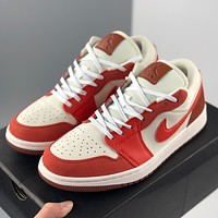 Air Jordan 1 Low OG low-top casual colorblock sneakers shoes