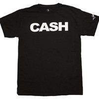 Johnny Cash Block Print T-Shirt